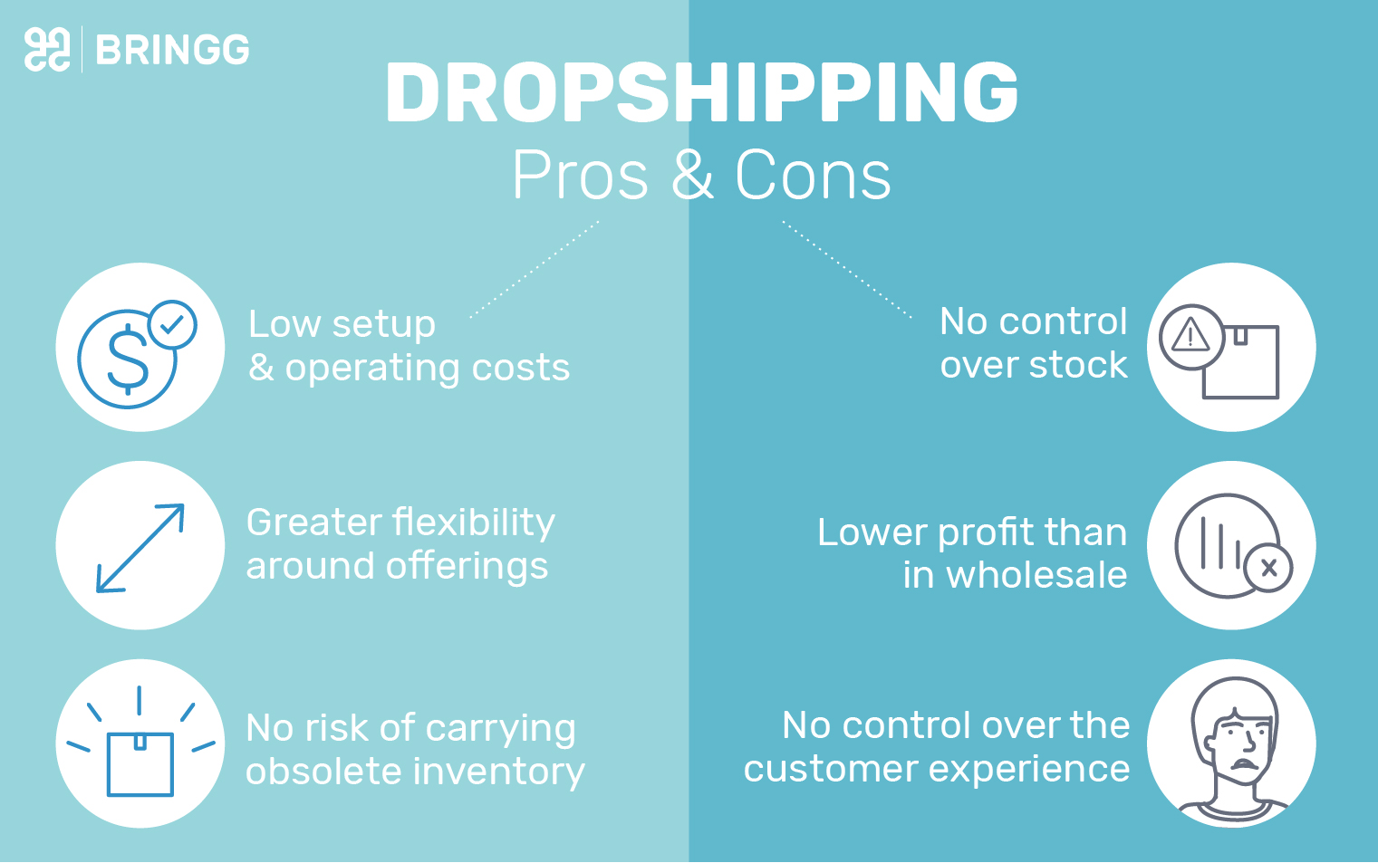 Drop Shipping Logistics: Pros and Cons