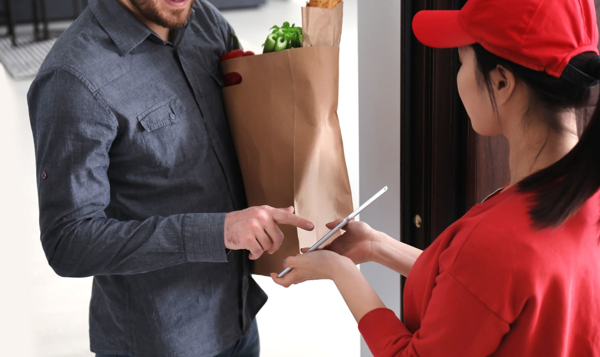No contact delivery makes it harder to perform rejections and give tips