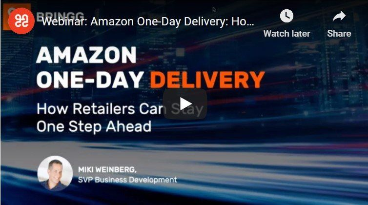Amazon one day delivery