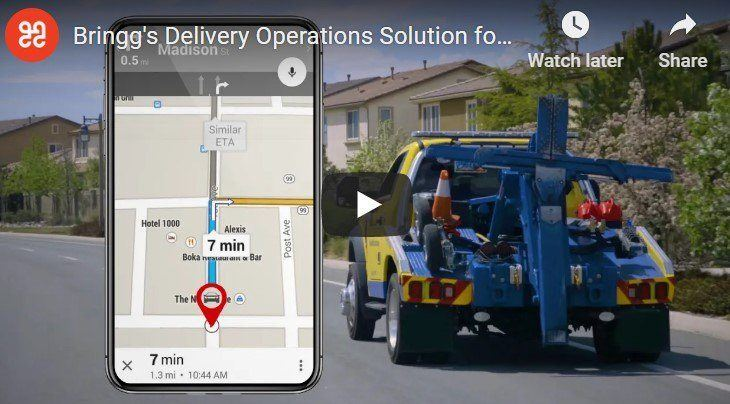 Delivery solutions for service companies