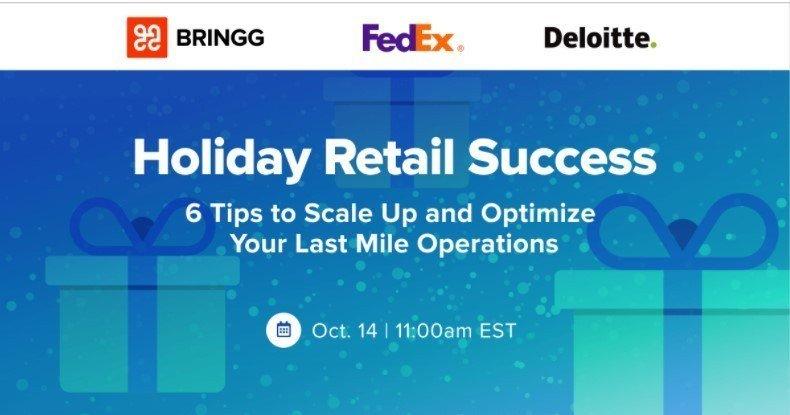 Holiday Retail Success webinar
