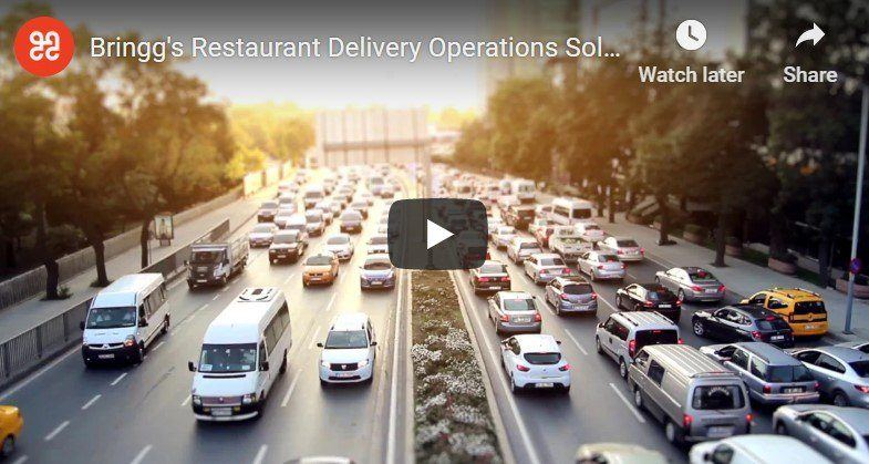 Restaurant delivery operations solution