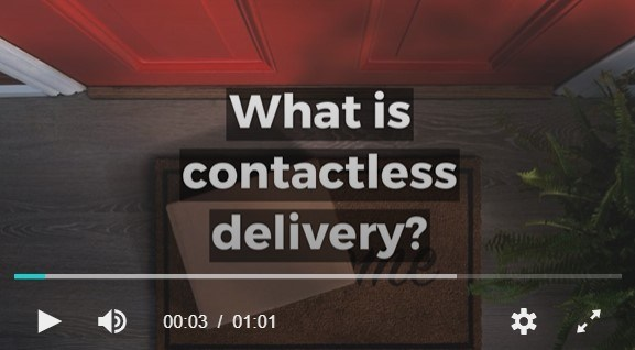 What is contactless delivery