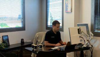 Guy in Office TLV