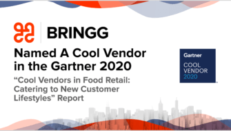 """Bringg Named a Cool Vendor in the Gartner 2020 """"Cool Vendors in Food Retail: Catering to New Customer Lifestyles"""" Report"""