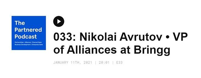 Podcast Nikolai Avrutov