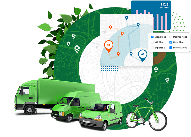 Green Third Party Delivery Network