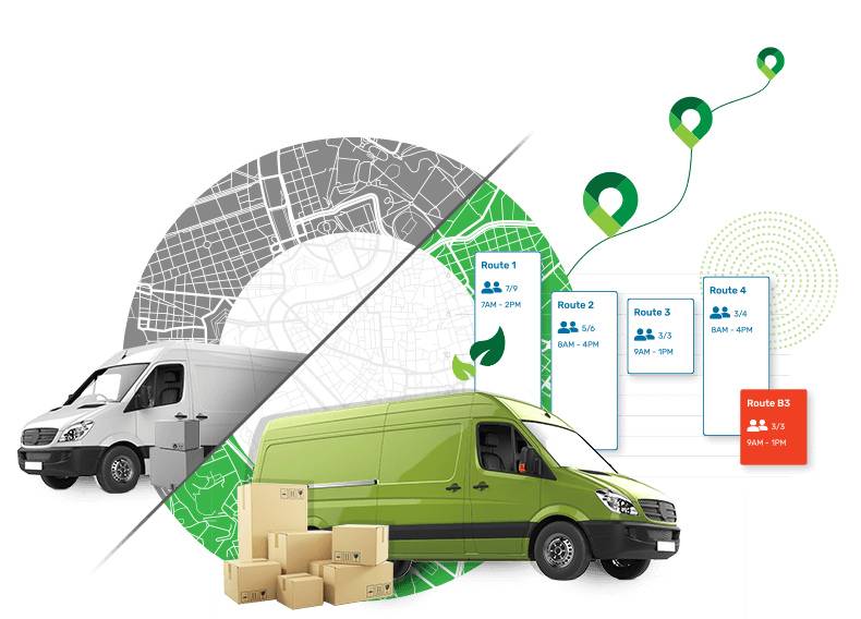Routing and fleet optimization