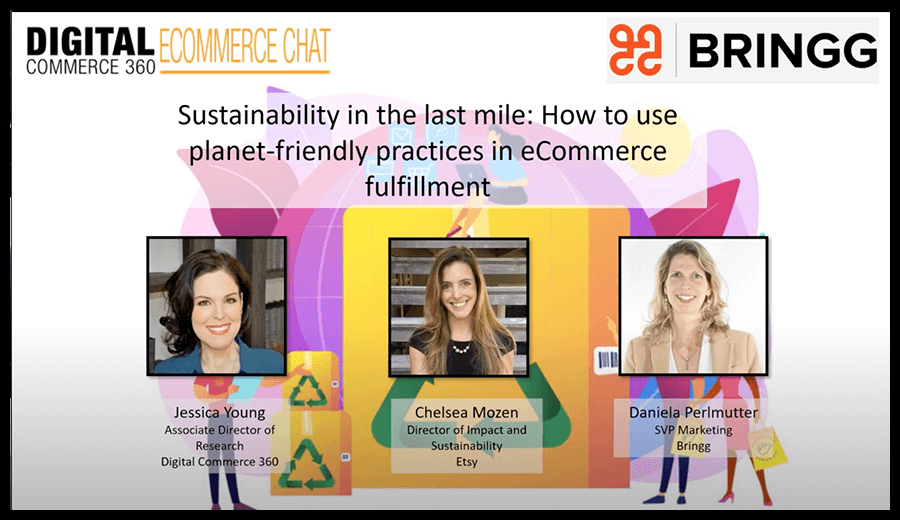 DigitalCommerce360 Chat: Sustainability in the Last Mile