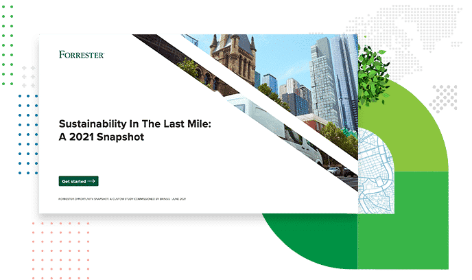Sustainability in the Last Mile: A 2021 Snapshot by Forrester