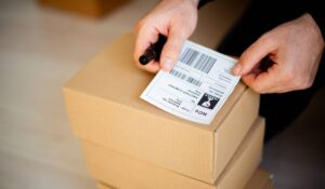 Damaged or incorrect shipping labels are a common cause of delivery exceptions.
